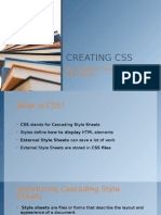 Creating Css