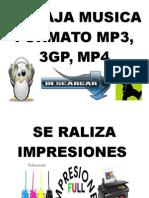 Se Baja Musica Formato Mp3