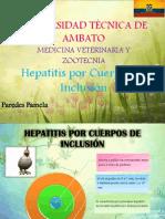 Hepatitis Por Cuerpos de Inclusión