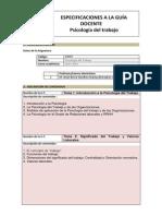 Especificaciones a La Guia Docente Ps Del Trabajo 2013x2014 Grupo H