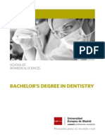 Bachelors Degree in Dentistry