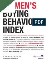 Womens Buying Behavior Index Nov2012 2