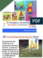 26 RECOMENDACIONES EN TDAH.pdf