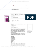 Editora Juspodivm - Revisaço - Receita Federal (Auditor e Analista) - Questões Comentadas