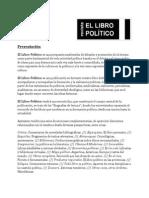 El Libro Politico - Presentacion
