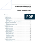 MongoDB Sharding Guide