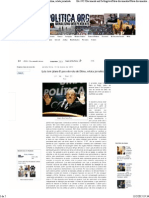 Folha Política_ Lula Tem 'Plano B' Para Derrota de Dilma, Relata Jornalista