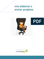 Como Elaborar e Gerenciar Projetos Diagramação