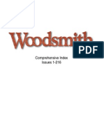 Woodsmith Magazine Index 1-216 (2014)