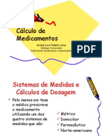 Cálculo de Medicamentos - André Fidelis