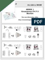 Grumman F4F Wildcat paper model