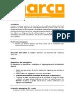 Progrma Analitico -Cuento Contemporaneo-Orfa