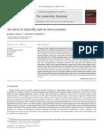 Control on Succcess USA Study 2011
