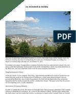 Danube River Pirates Arrested in Serbia