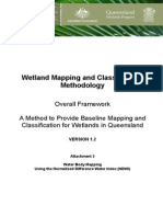 Wetland Mapping Normalized Water Index