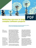 12-SuccessInLargeComplexSwProjects