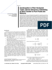 EArt-Condensation in Plain Horizontal Tubes - Recent Advances in Modelling of Heat Transfer to Pure Fluids and Mixtures