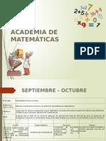 Resultados de La Academia de Matemáticas
