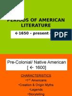periods of american literature  final presentation