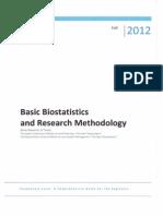 Basic Bioostatistics