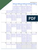 calendar 2015-03-01 2015-04-05