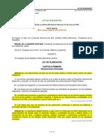 Ley de Planeacion 2012