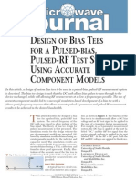Design of Bias Tees for a Pulsed-Bias Pulsed RF Test System