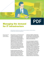 Managing the demand for IT infrastructure
