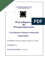 Paradigmas (Con Cambios)
