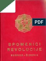 Spomenici Revolucije SUBNOR Šibenik