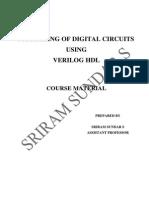 Verilog Course Manual