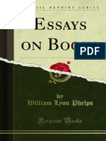 Essays on Books