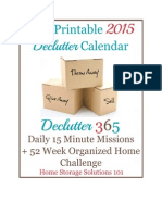 2015 Declutter Calendar eBook Final