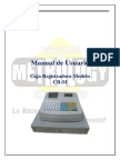 manual para caja registradora