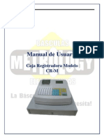 manual para caja registradora