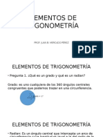 Presentación de Trigonometría