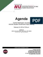 PM Agenda 2.23.15