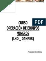 Operacion Equipos Mineros Lhd Dumper