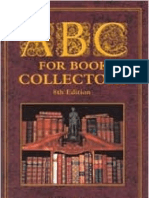 Barker & Carter. (1967, 2004). ABC for Book Collectors. 8thEd. British Library & Oak Knoll Press.