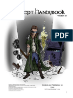 Shadowrun Sourcebook - Adept Handybook (Unofficial)