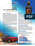 Signature Series 0W-30 100% Synthetic Motor Oil