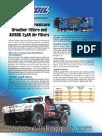AMSOIL Ea Racing Air Filters