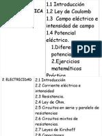 electricidad y magnetismotemo