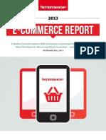 2013 Intershop E Commerce Report