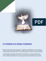 La Trinidad en El Antiguo Testamento