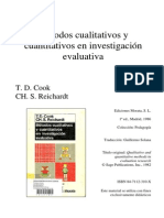 Métodos cualitativos y cuantitativos en investigación evaluativa