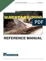 Manual Re Ferencia MacStars 2000