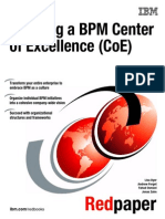 Creating a BPM Center of Excellence (CoE)