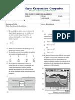 Prueba Diagnostica Math 10 y 11 Preicfes