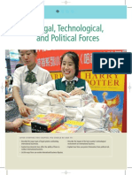 Legal,technological and political factors
